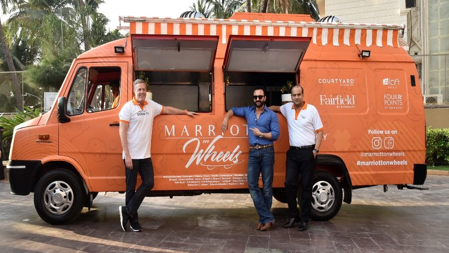 Marriott International launches its first mobile food truck in India