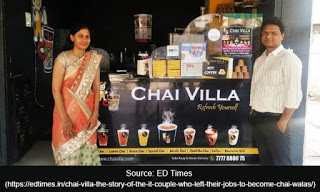 Chai Villa – The Story of The IT Couple Who Left Their Jobs To Become Chai Walas