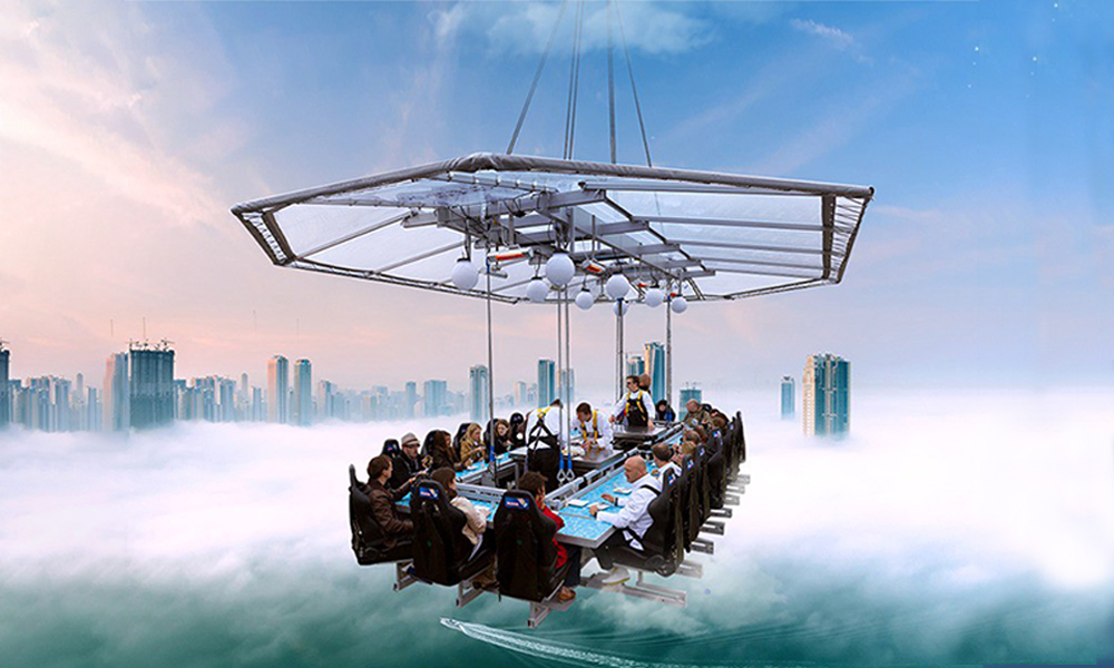 Bangalore's newest theme restaurant will have you in the sky